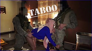 TOUR OF BOOTY - Local Arab Working Girl Entertains American Soldiers In The