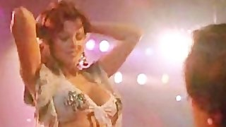 Lisa Falcone Celtic Redhead strips in an American Hollywood Movie