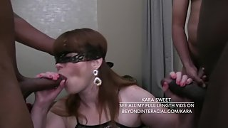 Three Men Gang Bang Kara Sweet