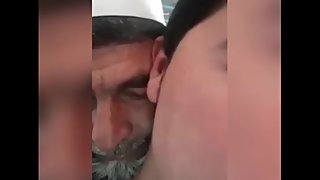 Old man breeding his nephew, pathan pakistan