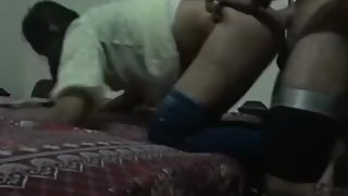 Pakistani Blowjob and Doggy Fuck