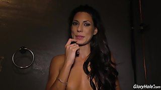 Alexa Tomas Glory Hole Behind the Scenes
