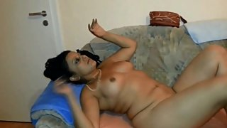 Her first strip (old homevideo)