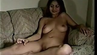 KAY, big natural tits cambodian girl first time on camera