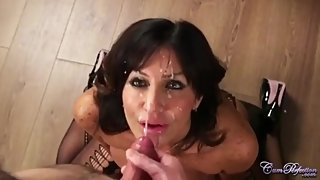 Tara Holiday Dr of Cockology MILF Facial