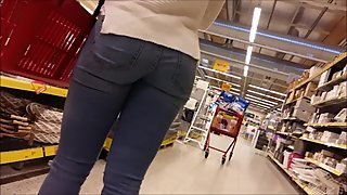 Sexy jeans ass in finnish market