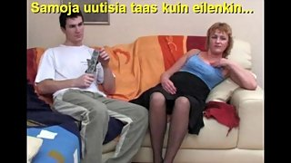 Slideshow with Finnish Captions: Mom Emilia 5