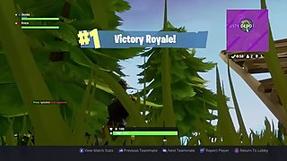Hot Double Penetration With Grenade Launcher (Fortnite Battle Royal)