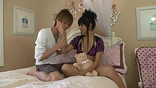 Latina Has Fun With Asian Guy