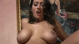 Huge Tits Persian GILF Fucked and Facialed