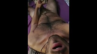 French Arab Dude Talks Dirty and Cums
