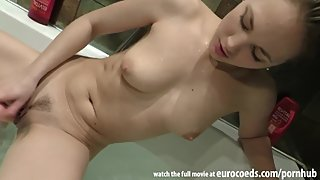 rubber ducky bath with ultra hot russian girl who speaks no english