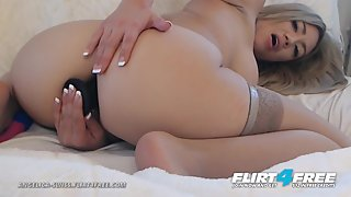 Angelica Swiss on Flirt4Free - Beautiful Blonde w Huge Amazing Tits Squirts